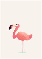 Flamant Rose by XnBlooh