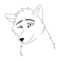 Icon Wolf by LuckyWolf27