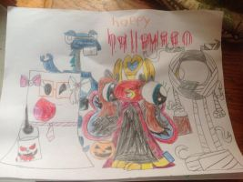 Happy Halloween by thedrksiren