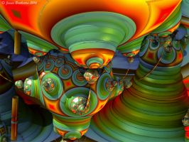 Nuclear Core Of The Alien Ship by jim88bro