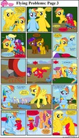 MLP FiM: Flying Problems: Page 3 by DarthGoldstar710