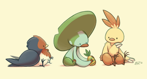 Hoenn Cuties by hevromero