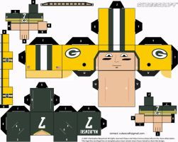Don Majkowski Packers Cubee by etchings13