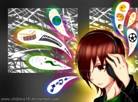 [Oc] Auriculares by Shijima18