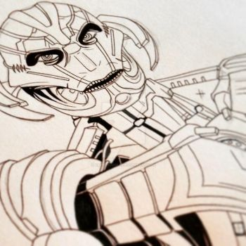 Ultron by ArtisticCole