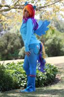 Rainbow Dash Cosplay by The-SixthLeafClover
