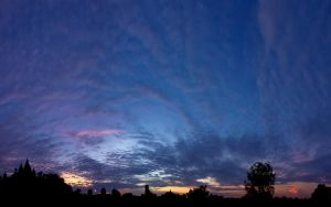 Orccha Sunset Panorama by esbenlp