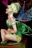 Tinkerbell laugh sideview by SutherlandArt