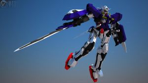 Exia in Vray trial by Ehmssss
