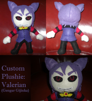Plushie: Valerian by Inkbound