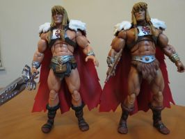 KING GREYSKULL Versions 1and 2 by efrece