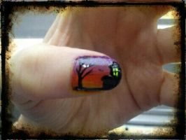 Halloween Nail Art Part2 by EnelyaSaralonde
