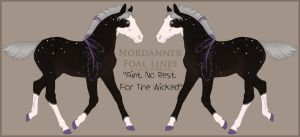 3753 Aint No Rest For The Wicked Foal Design Holde by HoT-Stables