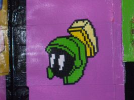 Marvin the Martian perler by bambina85