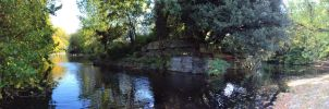 St. Stephen's Green Panorama by PlasmaXwisp