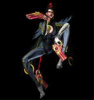 Bayonetta Pose (Render) by PhilipMessina