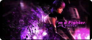 I'm a Fighter - Ayane by Spartan117TM
