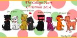 The College Years Christmas 2014 by Mytokyokitty