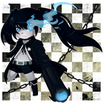Black Rock Shooter by Nozuki