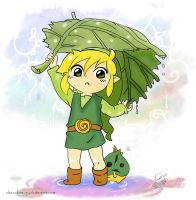 Chibi Link by ChocolateJuju