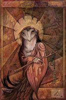 Owl Saint by ursulav