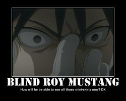 .:Blind Roy Mustang:. by EmoxCursexGrl92