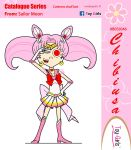 Toy Girls - Catalogue Series 46: Chibiusa by mickeyelric11