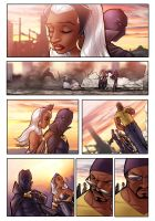 Gutters 328 - Storm and Black Panther by ComfortLove