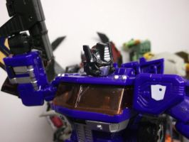 Diaclone Optimus Prime-Kold Blue Konvoy by forever-at-peace