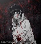 Otro fanart de Jeff The Killer by Ixcuinan