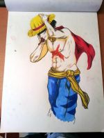 Luffy from One Piece by flaviudraghis