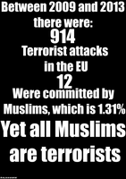 All Muslims are Terrorists? by mclj10