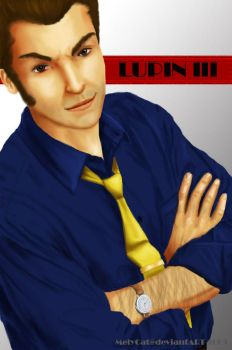 Lupin III by MelyCat