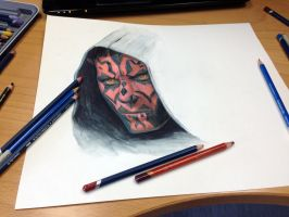 darth maul by AtomiccircuS