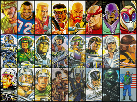 Gi Joe Battle Force 2000 + ... by Seblebon