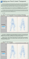 Transparent Lineart Tutorial by sheenaduquette