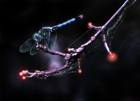 Mechanical Dragonfly by ChristopherJStafford