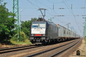 185 571 arrive a container train to Hegyeshalom by morpheus880223