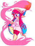 Pinky Squiddie :D(S.Request by murdermadness556) by SonicaHasItAll11