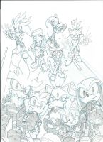 Sonic Universe Secret Rose fan cover teaser 2 by trunks24