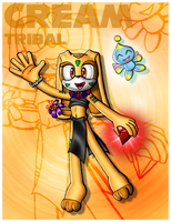 Cream Tribal Card by Lord-Kiyo