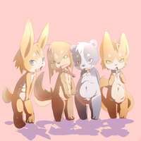 FUR oC 3 line up of cuteness by phation