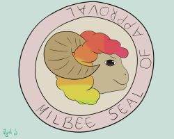 Millbee Seal of Approval by zijad96