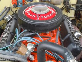 1969 Plymouth Road Runner 383 C.I. Engine by Brooklyn47