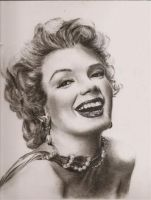 Marilyn Monroe by gedehoogh