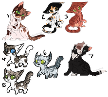Adoptables | Batch 24 CLOSED by Panderoo