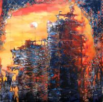 Reflections of the City by PaintingKim