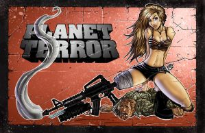 PLANET TERROR COLORS by IRLGZZ