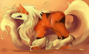 arcanine by Disorder-J