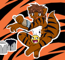 Happy Year of the Tiger 2010 by Droll3